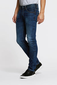 Men - Slim Fit Jean - American Selvedge Denim - front 2 image - one denim