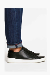 Men - Slim Fit Jean - American Selvedge Denim - selvedge detail image - one denim