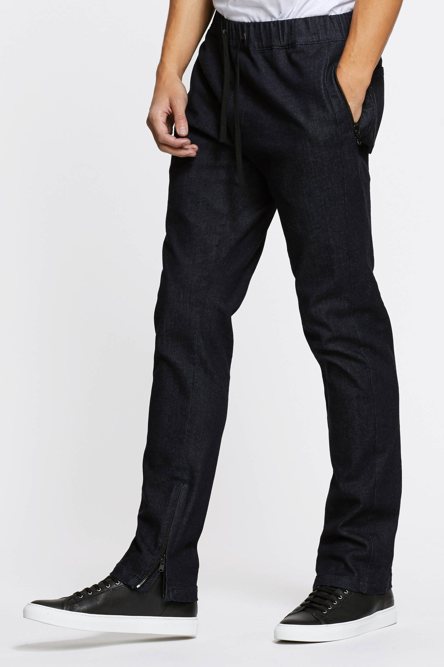Raw Denim Track Pant