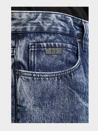 Men - Oversized Jean - Italian Organic Denim - detail front image - one denim