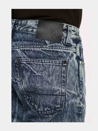 Men - Oversized Jean - Italian Organic Denim - detail back image - one denim
