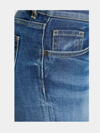 Women - Skinny Cigarette Jean - Light Blue - Japanese Denim - detail image - one denim