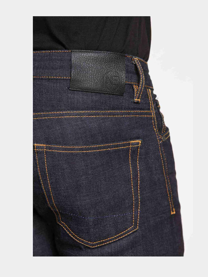 Men - Slim Fit Jean - Japanese Selvedge Denim - detail back image - one denim