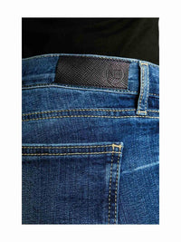 Women - Slim Boyfriend Jean - Light - Japanese Selvedge Denim - detail back image - one denim