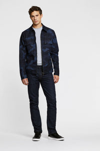 Men - Straight Fit Jean - Japanese Selvedge Denim - front image - one denim