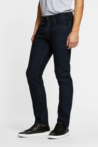 Men - Straight Fit Jean - Italian Selvedge Denim - front 2 image - one denim