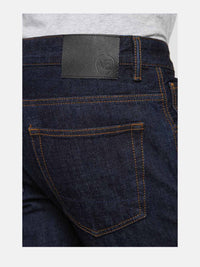 Men - Straight Fit Jean - Japanese Selvedge Denim - detail back image - one denim