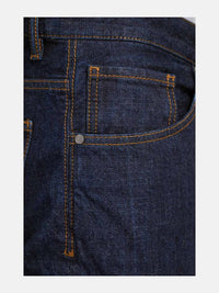 Men - Straight Fit Jean - Japanese Selvedge Denim - detail side image - one denim