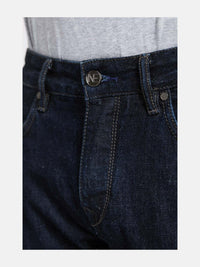 Men - Straight Fit Jean - Italian Selvedge Denim - detail front image - one denim