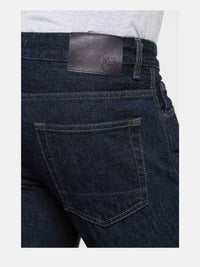 Men - Straight Fit Jean - Italian Selvedge Denim - detail back image - one denim