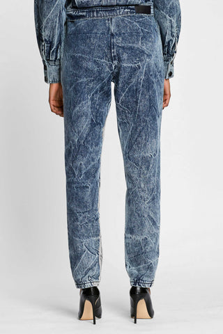 Water Denim Track Pant
