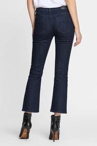 Women - Cropped Flare Jean - Japanese Denim - back image - one denim