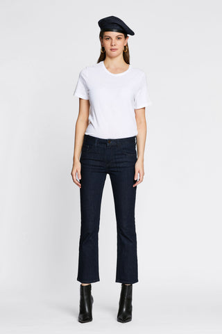Cropped Flare Jean - Japanese Denim - front 2 image - one denim