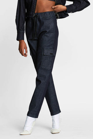 Raw Denim Cargo Pant