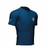 Compressport Men's Trail Half-Zip Fitted SS Top