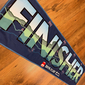 CAN RUN 2019 Finisher Towel