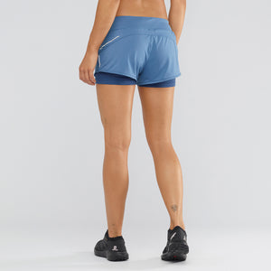 SALOMON Women's ELEVATE AERO SHORTS WS