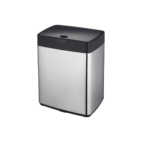 Chome 28L Rectangle Iris Sensor Bin