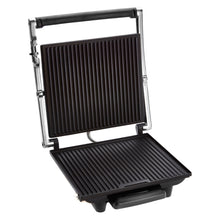 Stainless Steel 4 Slice Large Sandwich Panini Grill