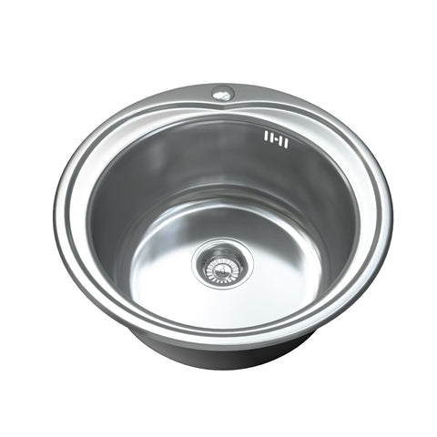 1093 Single Bowl Kitchen Sink and Waste