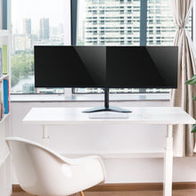 "Double Arm Desk Stand for 13"" - 17"" Monitors"