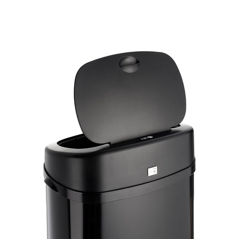 Black 30L Rectangle Onyx Sensor Bin