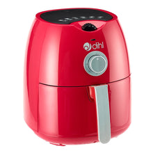 Red 4L Dial Air Fryer