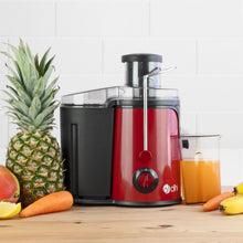 Red 600W Whole Fruit Centrifugal Juicer