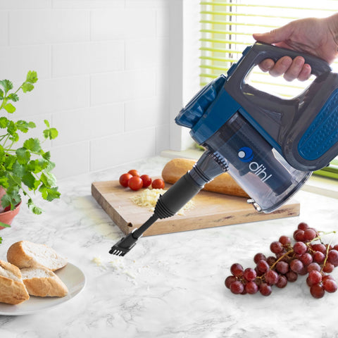 600W Blue Corded Hand Held Vacuum Cleaner