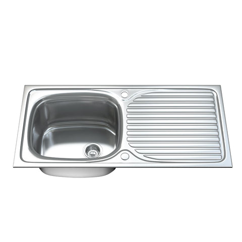 1003 Single Bowl Kitchen Sink with Waste