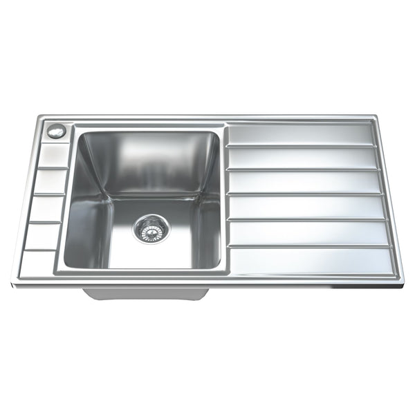 1041 Single Bowl Kitchen Sink with Waste
