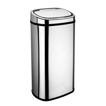 68L Chrome Rectangle Origin Sensor Bin