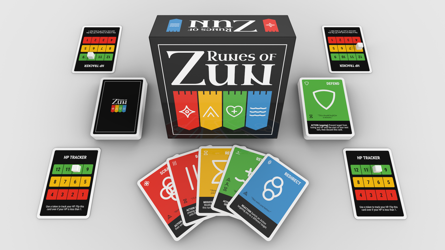 Runes of Zun Kickstarter is live!