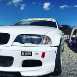 Sticker PilotedeCourse sur BMW E46 Drift