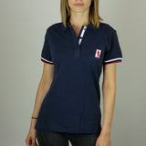 Polo PilotedeCourse - Nation - Femme - Marine