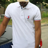 Polo PilotedeCourse - Nation - Homme - Blanc