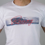 Tee-Shirt PilotedeCourse - Racing Red - Homme