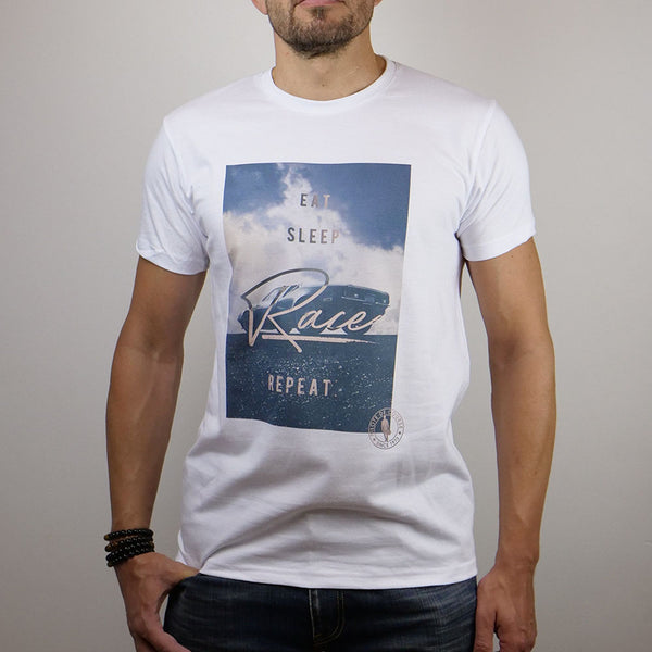 Tee-Shirt PilotedeCourse - Repeat - Homme
