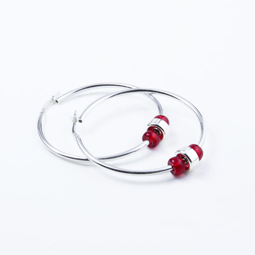 Pure Passion Large Hoops
