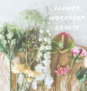 Flower Arranging - 03.10.19 - Our Happy Place | 18:30 - 20:30