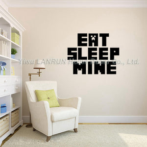 Minecraft Wall Sticker