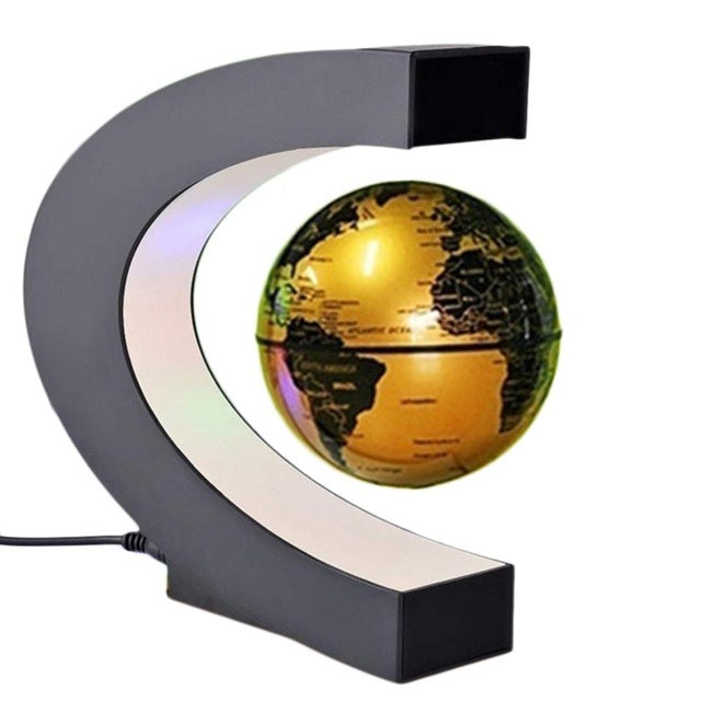 World Map LED Lamp