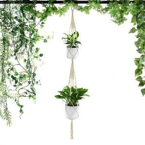 Hanging Rope Flower Pot Holder