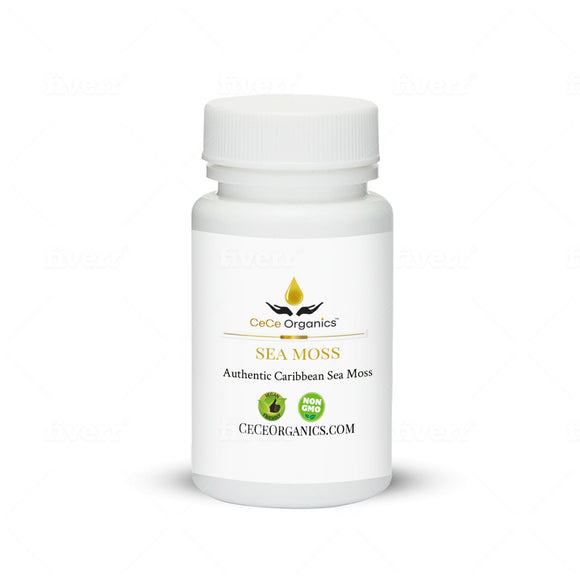 Sea Moss (3 options: Original Dried Sea Moss, Capsules, Gel)