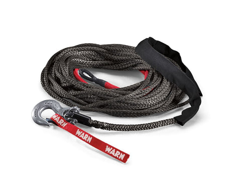 Warn Spydura Synthetic Winch Rope (Black) - 87915