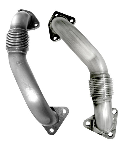 PPE 116120000 REPLACEMENT UP-PIPES 2001-2016 GM 6.6L DURAMAX