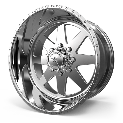 AMERICAN FORCE 11 INDEPENDENCE SS FORGED ALUMINUM WHEEL - 8 LUG 8X170 - Polish