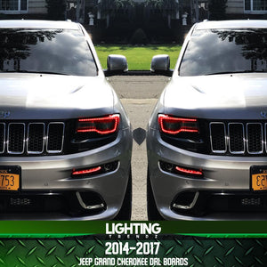 Jeep Grand Cherokee Aftermarket Parts >> 2014 2017 Jeep Grand Cherokee Drl Boards