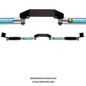 SUPERLIFT Dual Steering Stabilizer Kit - Superide SS by Bilstein (Gas Pressure) - 2005-2018 Ford F-250/350 Super Duty 4WD