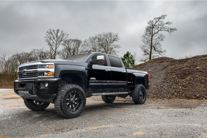 6 Inch Lift Kit For Chevy 1500 4wd >> Superlift 6 Inch Lift Kit 2011 2018 Chevy Silverado And Gmc Sierra 2500hd Or 3500 4wd Knuckle Kit With Superide Shocks